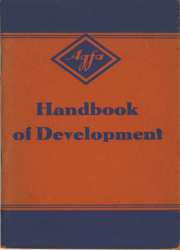 AGFA: HANDBOOK OF DEVELOPMENT. AGFA.