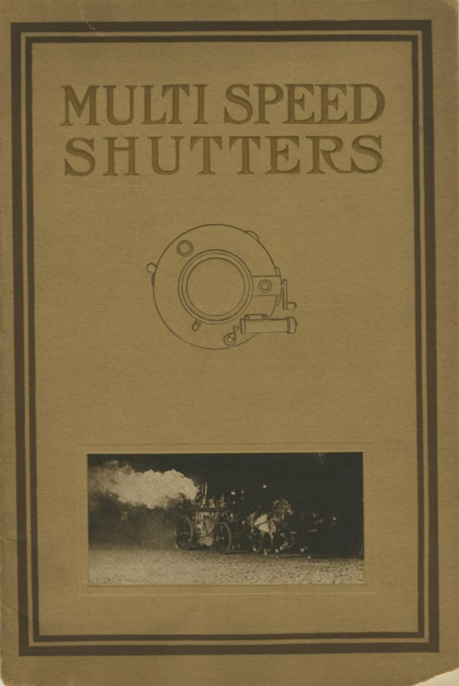 MULTI SPEED SHUTTERS FOR THE PROFESSIONAL AND AMATEUR PHOTOGRAPHER. Multi Speed Shutter Co.