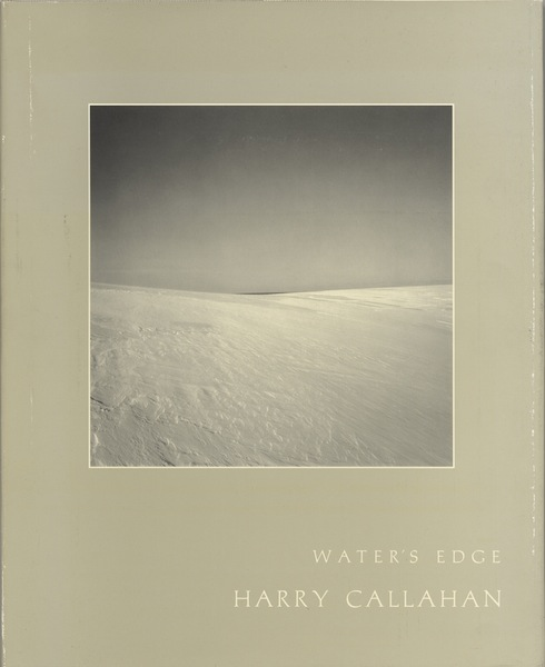 WATER'S EDGE.; With an introductory poem by A.R. Ammons and an afterword by Harry Callahan. Harry Callahan.