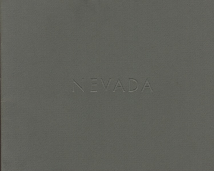 NEVADA. Lewis Baltz.