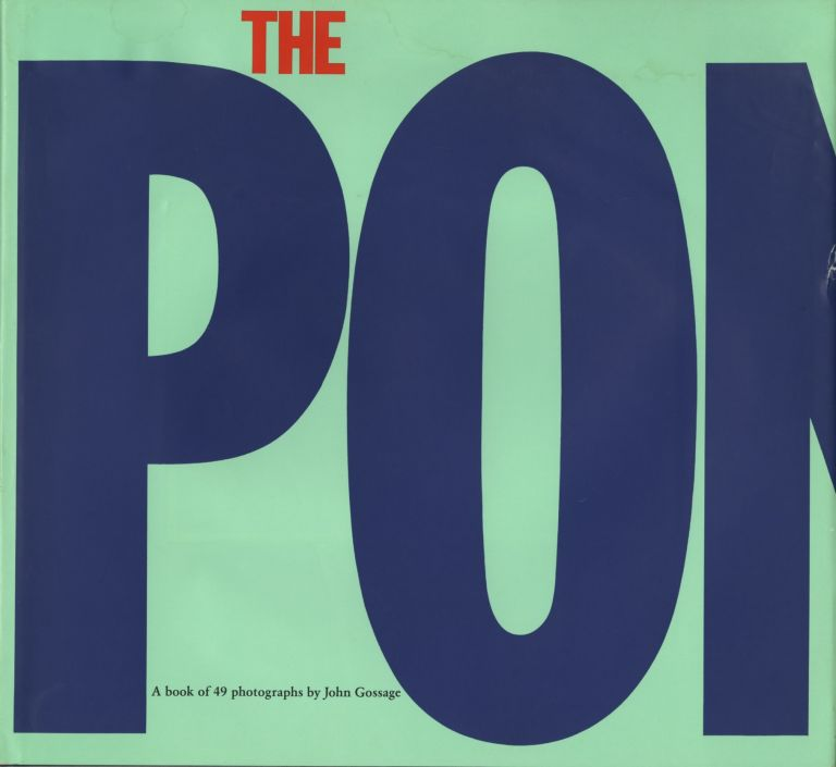 THE POND.; With an essay by Denise Sines. John Gossage.