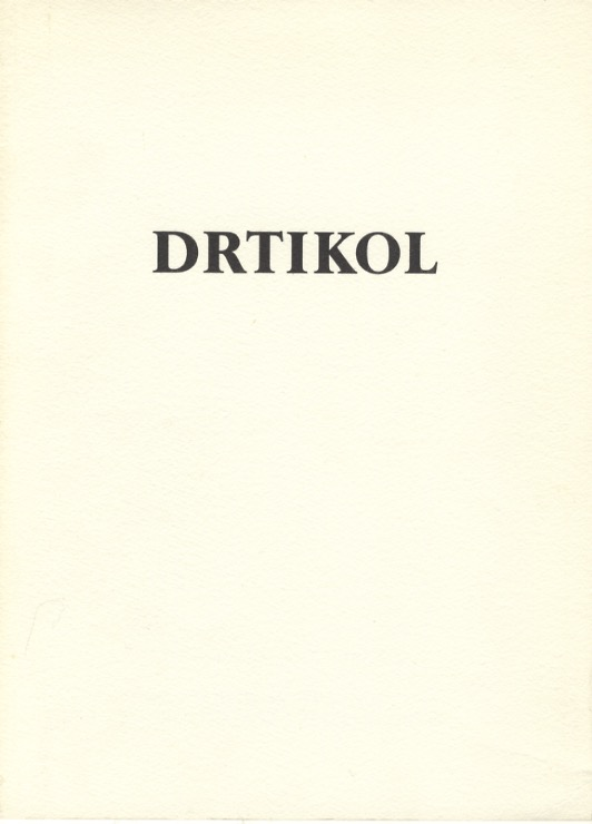 DRTIKOL.; Introduction by Daniela Mr zkov. DRTIKOL, Anna Fárová, foreword.