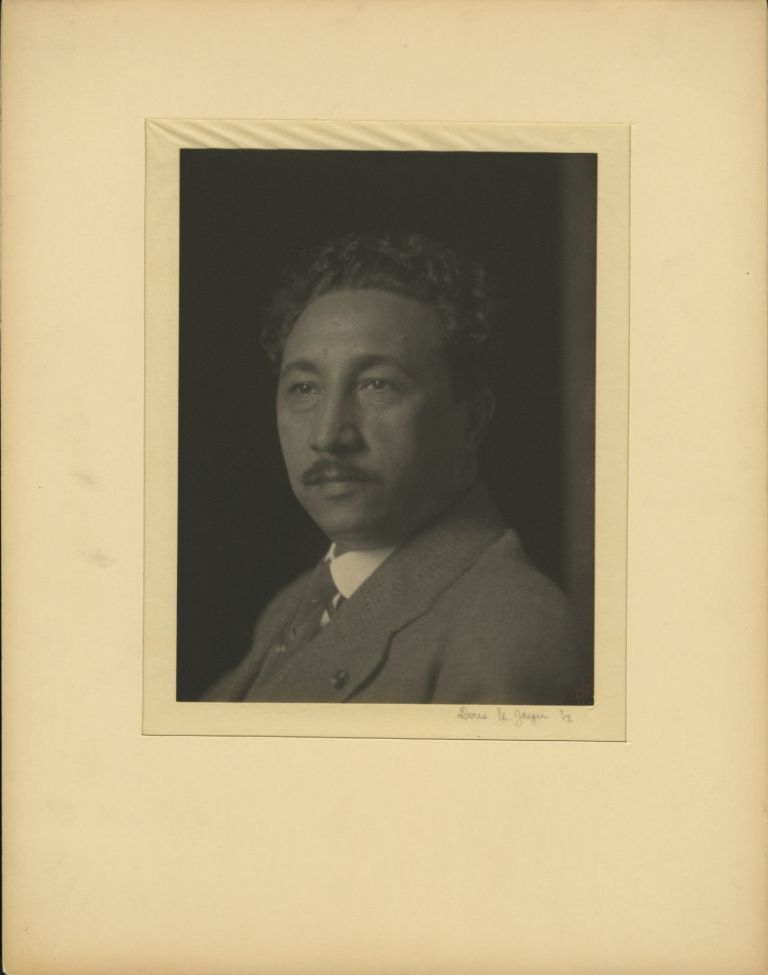 PORTRAIT OF AN AFRICAN-AMERICAN GENTLEMAN. Doris Ulmann.
