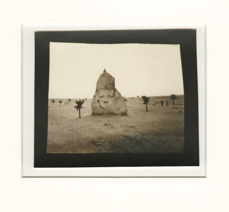 """UNTITLED [SPHINX] #9; """"EXPEDITION"""", CHICAGO 1979. Ruth Thorne-Thomsen."""
