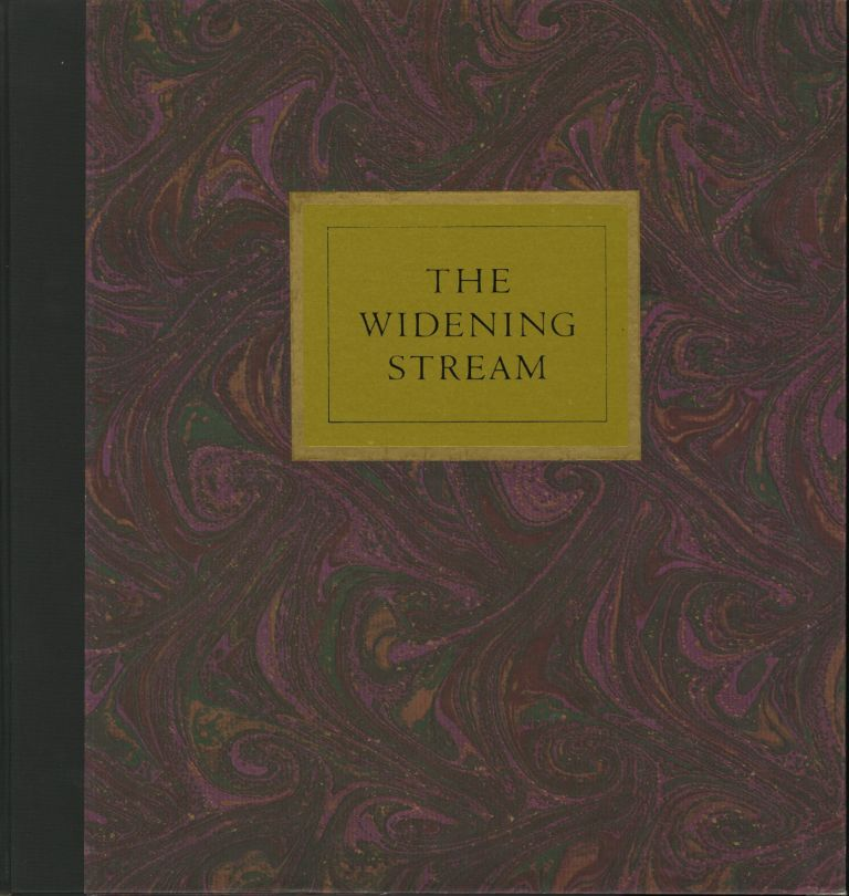 THE WIDENING STREAM.; Poems by Richard Mack. Wynn Bullock.