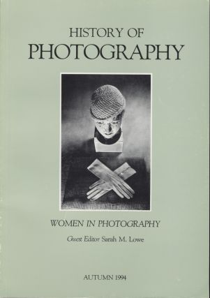 HISTORY OF PHOTOGRAPHY: AN INTERNATIONAL QUARTERLY.