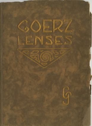 GOERZ LENSES. 1910. C. P. Goerz Optical Co