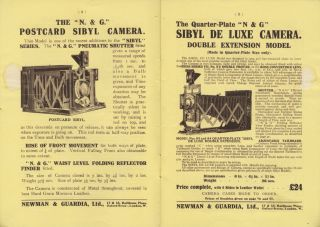 NEWMAN & GUARDIA, LTD.: MANUFACTURERS OF SCIENTIFIC INSTRUMENTS AND HIGH-CLASS PHOTOGRAPHIC APPARATUS.; [cover title].