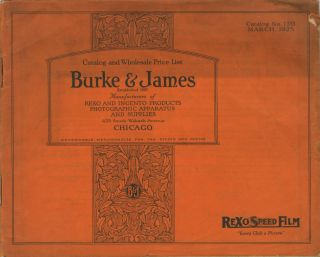 CATALOG AND WHOLESALE PRICE LIST.; Catalog No. 120. [cover title]. Burke, James Incorporated