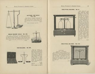 HENRY TROEMNER'S SCALES AND WEIGHTS FOR DRUGGISTS, JEWELERS AND OTHER COMMERCIAL AND SCIENTIFIC PURPOSES.; CATALOGUE NO. 1913.