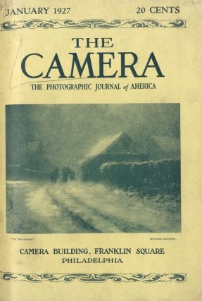 THE CAMERA:; THE PHOTOGRAPHIC JOURNAL OF AMERICA. Frank V. Chambers.