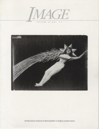 IMAGE:; Journal of Photography of the George Eastman House.