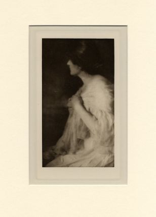 PORTRAIT OF MISS M., OF WASHINGTON. Rose Clark, Elizabeth Flint Wade.