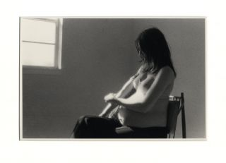 PREGNANT WOMAN SHOOTING UP. Larry Clark.