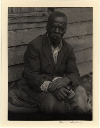 AFRICAN-AMERICAN PLANTATION WORKER, SOUTH CAROLINA. Doris Ulmann