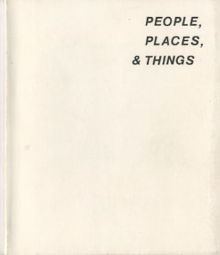 PEOPLE, PLACES, & THINGS. Jim Snitzer