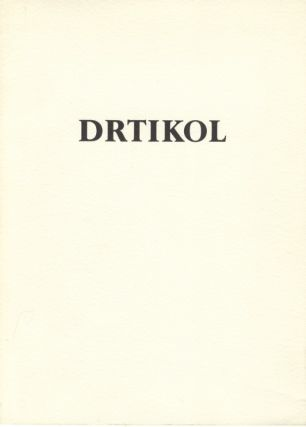 DRTIKOL.; Introduction by Daniela Mr zkov. DRTIKOL, Anna Fárová, foreword