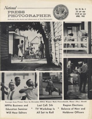 NATIONAL PRESS PHOTOGRAPHER.; OFFICIAL PUBLICATION OF THE NATIONAL PRESS PHOTOGRAPHERS...