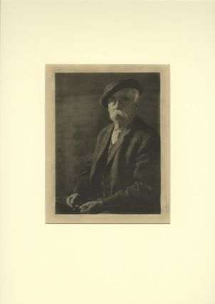 OLD MAN WITH PIPE. Doris Ulmann