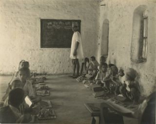 THREE VINTAGE SILVER GELATIN PHOTOGRAPHS FROM THE SERIES, INDIAN EDUCATION. Cecil Walter Hardy...
