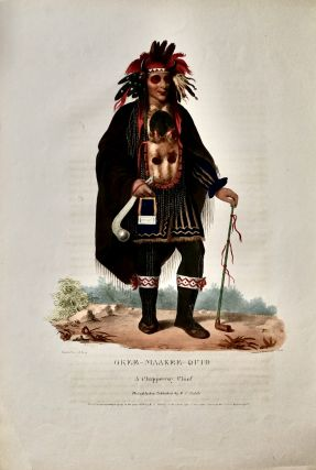 OKEE-MAKEE-QUID.; A CHIPPEWAY CHIEF. C. B. King, painter, Charles, Bird