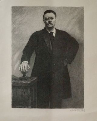 PORTRAIT OF THEODORE ROOSEVELT. THEODORE ROOSEVELT, Timothy Cole