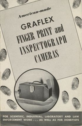 AMERICAN-MADE GRAFLEX FINGER PRINT AND INSPECTOGRAPH CAMERAS: FOR SCIENTIFIC, INDUSTRIAL,...