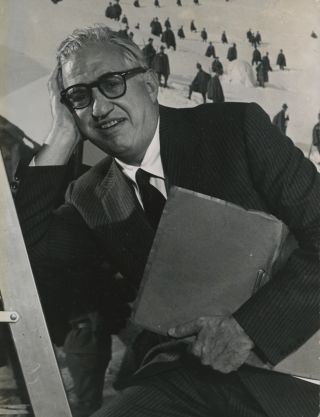 """ALBUM OF 19 PORTRAIT PHOTOGRAPHS OF DAVID O. SELZNICK.; Presented to """"Babe and Bill, Christmas 1965."""""""